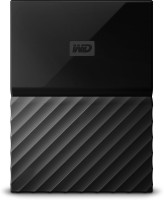 WD My Passport 1 TB Wired External Hard Disk Drive (Black)