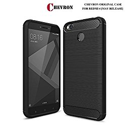 Xiaomi Redmi 4 Original Back Cover Case, Rugged Armor Shock Proof TPU Case for Mi Redmi 4 Mobile
