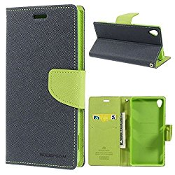 CEDO Stylish Luxury Mercury Magnetic Lock Diary Wallet Style Flip Cover Case for Lenovo Vibe K5 and