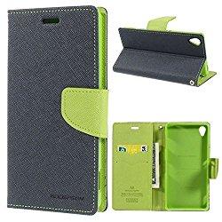 CEDO Stylish Luxury Mercury Magnetic Lock Diary Wallet Style Flip Cover Case for Lenovo Vibe K5 and