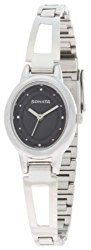 Sonata Everyday Analog Black Dial Women's Watch - 8085SM01
