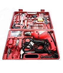 Toolsden AG-A1101-K Agni Powerful Impact Drill Machine Kit with Reversible Function 500 Watt 2600/28