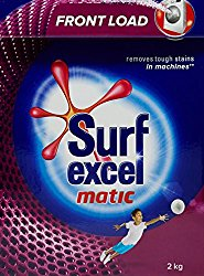 Surf Excel Matic Front Load Detergent Powder - 2 kg