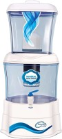 Florentine Homes Mineral Pot Non-Electric - Martin 16L Gravity Based Water Purifier (White)