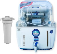 Aquagrand Plus Plus Freedom 12 L RO + UV Water Purifier (White)