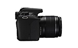 Canon EOS 1200D 18MP Digital SLR Camera (Black) with 18-55mm and 55-250mm IS II Lens,8GB card and Ca