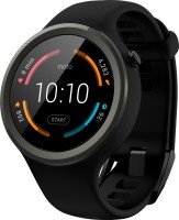 Motorola Moto 360 Sport Black Smartwatch (Black Strap Regular)