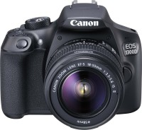 Canon EOS 1300D DSLR Camera (Body with EF-S 18 - 55 IS II, Black)