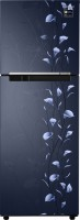 Samsung 253 L Frost Free Double Door Refrigerator (Tender Lily Blue)