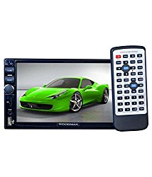 Woodman Doubledin With FM/Bluetooth/Usb (1080px Full Hd) Car Stereo (Double Din)