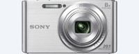 Sony DSC-W830 Point & Shoot Camera (Silver)