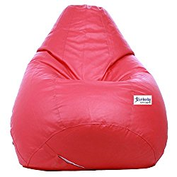 Excel Classic Bean Bag Cover without beans - XL Size - Pink Colour