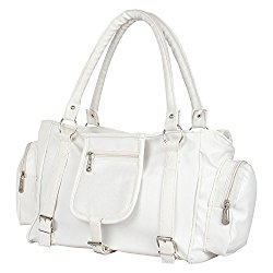 Glory Fashion Women's Handbag (White,Bags Beautys)