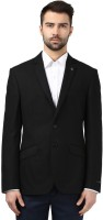 Raymond Solid Tuxedo Style Formal Men's Blazer (Black)