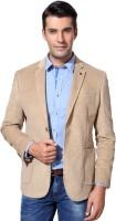 Van Heusen Solid Single Breasted Formal Men's Blazer (White)