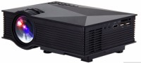 Unic UC 46,WIFI 1200 lm LED Corded Portable Projector (Black)