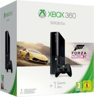 Microsoft Xbox 360 500 GB with Forza Horizon 2 (Black)