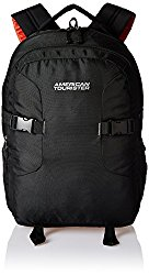 American Tourister Polyester 32 Ltrs Black Laptop Backpack (Black) @ Rs.1050