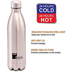 Eco Alpine Stainless Steel Hot and Cold Thermoflask Bottle - 1000 Ml @ Rs.649