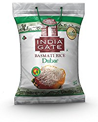 India Gate Basmati Rice, Dubar, 5kg @ Rs.455
