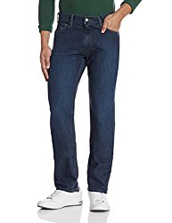 Levi's Men's 513 Slim Fit Jeans (Blue)
