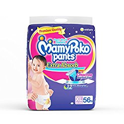 MamyPoko XL Size Pants (56 Count) @ Rs.650