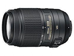 Nikon AF-S DX Nikkor 55-300mm F/4.5-5.6G ED VR Telephoto Zoom Lens for Nikon DSLR Camera