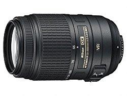 Nikon AF-S DX Nikkor 55-300mm F/4.5-5.6G ED VR Telephoto Zoom Lens for Nikon DSLR Camera