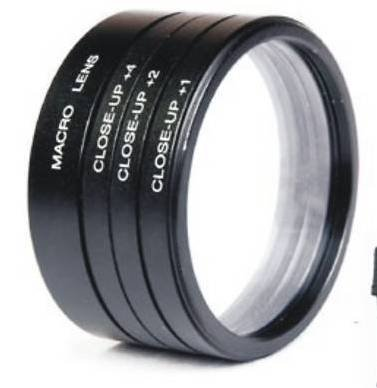 52mm Close up Lens Filter Kit for Nikon 18-55mm 55-100mm 55-250mm D3000, D3100, D3200