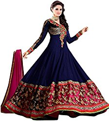 Fashion Dream Women's Semi Stitched Georgette Salwar Suit @ Rs.899