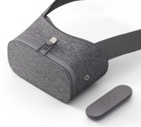Google Daydream View VR Headset with Controller (Slate, Smart Glasses)