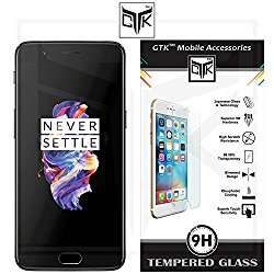 OnePlus 5 Tempered Glass - Ultra Clear Premium HD Tempered Glass Screen Protector @ Rs.349