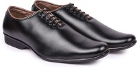 Arthur Men's Black PU Lace Up (Black) @ Rs.699