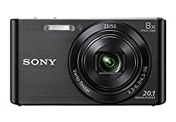 Sony DSC W830 Cyber-shot 20.1 MP Point and Shoot Camera (Black) with 8x Optical Zoom @ Rs.8470