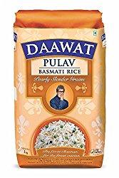 Daawat Pulav Basmati Rice, 1kg @ Rs.99