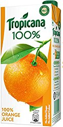Tropicana Orange 100% Juice, 1000ml @ Rs.120