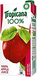 Tropicana 100% Juice - Apple, 1 ltr @ Rs.120