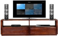 The Attic Solid Wood TV Entertainment Unit (Finish Color - Provincial Teak) @ Rs.10554