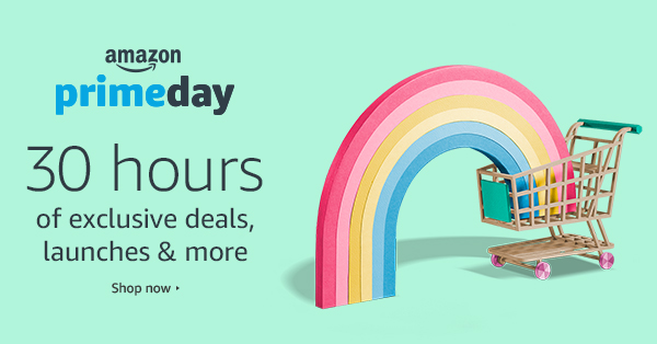 Amazon Prime Day: 30 Hours of Exclusive Deals, Launches & Premieres