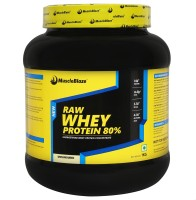 MuscleBlaze Raw Whey Protein (1 kg, Unflavored) @ Rs.1499