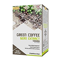 Ioth Green Coffee Bean Extract 100 % Natural Weight Loss Supplement For Women & Men @ Rs.1150