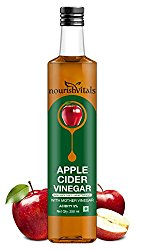 Nourish Vitals Apple Cider Vinegar 250ml - With Mother Vinegar, Raw @ Rs.225