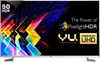 Vu 127cm (50) Ultra HD (4K) Smart LED TV(LEDN50K310X3D, 4 x HDMI, 3 x USB)