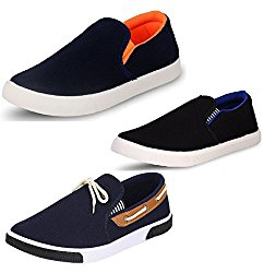 Chevit Men's Trio Casual Loafers Shoes (Pack of 3, Sports & Running Shoes) @ Rs.797