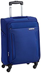 American Tourister Troy Polyester 56 cms Royal Blue Soft Sided Carry-On (Blue) @ Rs.4400