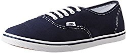 Vans Unisex Authentic Lo Pro Navy and True White Sneakers - 6 UK/India (39 EU)