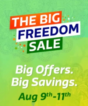 Flipkart Freedom Day Sale (9th - 11th August 2017)