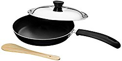 Tosaa Non-Stick Taper Pan with Stainless Steel Lid, 21cm, 2-Pieces @ Rs.428