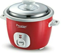 Prestige CUTE 1.8-2 Electric Rice Cooker with Steaming Feature (1.8 L, Red) @ Rs.1995