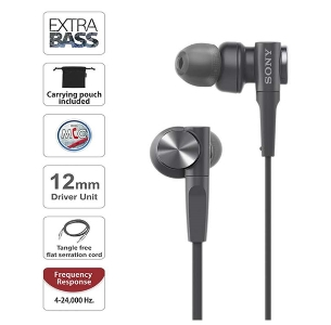 Sony MDR-XB55AP Extra Bass Earphones with Mic